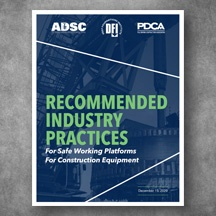 Working Platforms Recommended Industry Practices