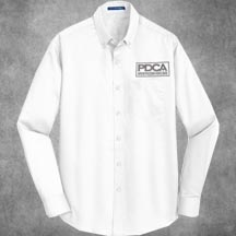 PDCA  Men's Embroidered Superpro Twill Shirt - IN FOUR COLORS