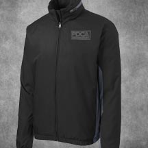 PDCA Men's Embroidered Core Colorblock Wind Jacket - IN FOUR COLOR SCHEMES