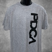 PDCA Vertical Logo Tee Shirt - IN THREE COLORS